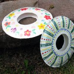 DIY Frisbee craft