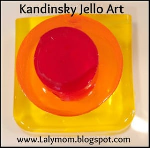 Lalymom Kandinsky Jello Art Kids Art Project