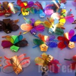 mini beast - easy kids crafts made from every day items