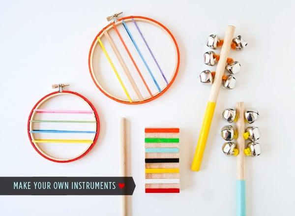 musical instrument crafts