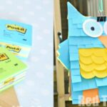 Easy Pinata – Paper bags and Post-Its