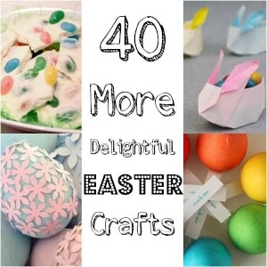 Easy Easter Ideas and Easter Crafts for Kids! Our favourite Easter Craft inspiration from over the years. Easy, colourful, seasonal and fun!!!