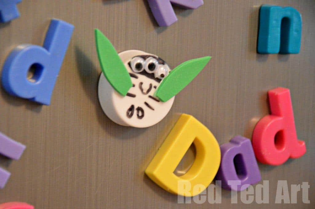 Bottle Lid Craft Magnets