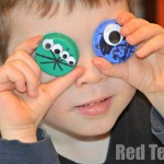 Bottle Top Crafts for Boys - Aliens