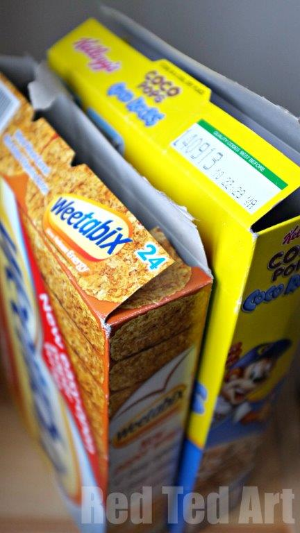Cereal Box Craft Ideas