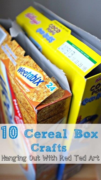 Cereal Box Crafts – fun and versatile