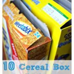 10 Cereal Box Crafts
