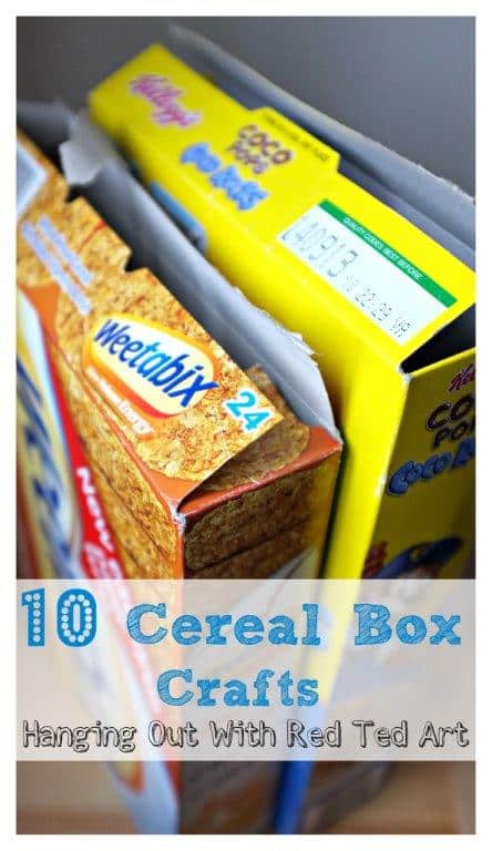 10 Cereal Box Crafts - Red Ted Art\'s Blog