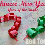 Chinese New Year crafts for kids - year of the Snake