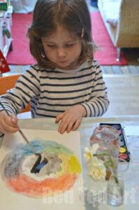Colour theory with preschoolers