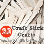 Craft Stick Crafts