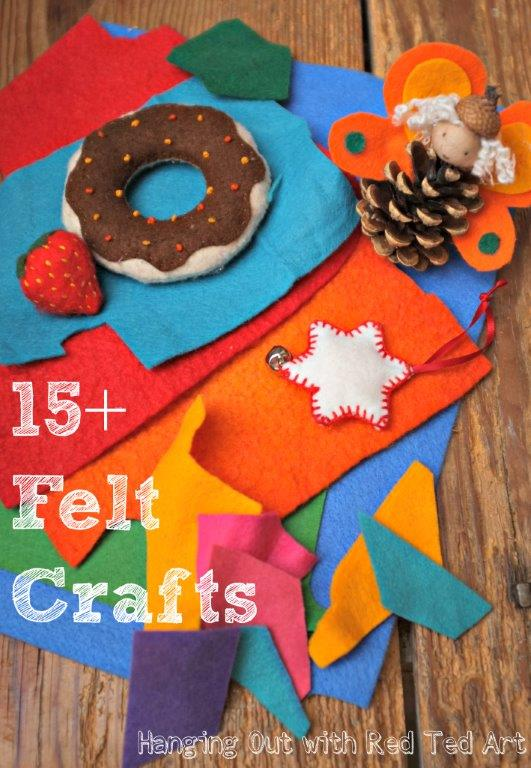 Craft with Felt – over 15 ideas