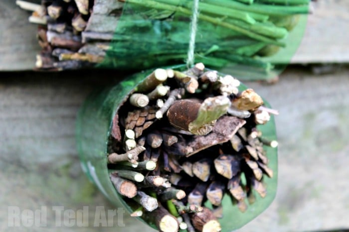 Easy Bug Hotel for Kids to make