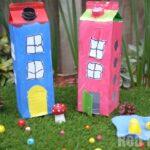 Juice Carton Houses
