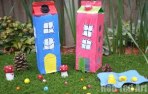 Fairy Houses Cartons