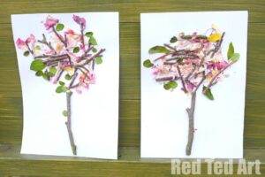 Four Seasons - Spring Nature Art