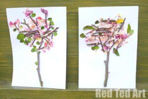 Four Seasons - Spring Nature Art