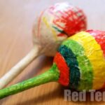 Kids Crafts: Maracas Instruments (& Rattles)