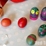 Fun with tape and Easter eggs