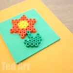Hama Bead Cards