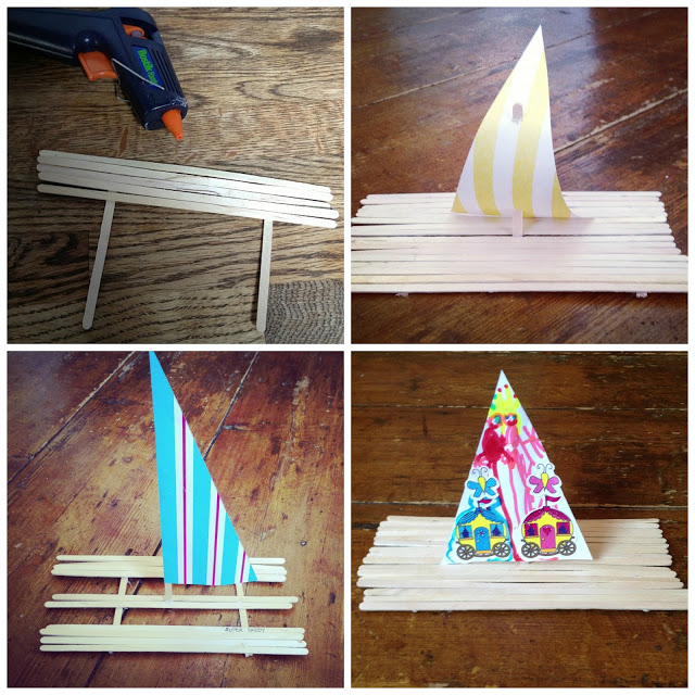 How to make a floating boat out of household items, wooden ...