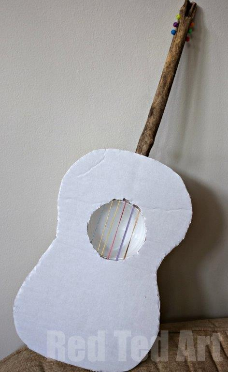 Kids Guitar Craft