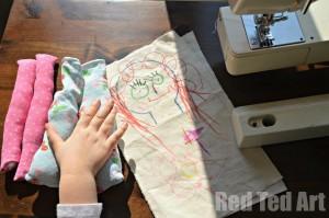 Making Kids Rag Dolls