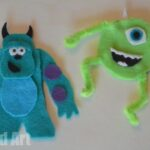 Monsters Inc Finger Puppets