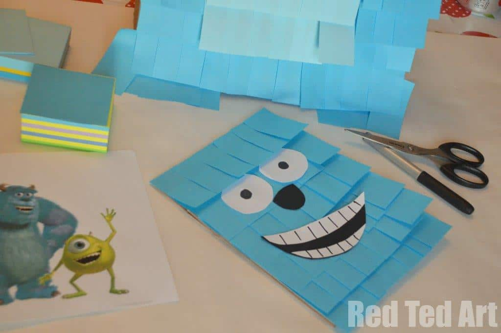 Monsters Inc Pinata craft