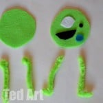Monsters Inc Puppet craft