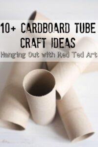 Over 10 Fabulous Cardboard Tube Craft Ideas