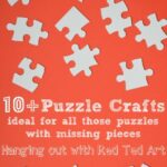 Over 10 puzzle craft ideas