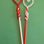 Heart Pencil Toppers – Super Quick & Easy