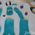 Sulley Finger Puppet