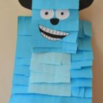 Sulley Pinata - easy kids crafts made from every day items
