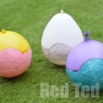 Tissue Paper Mache Easter Crafts