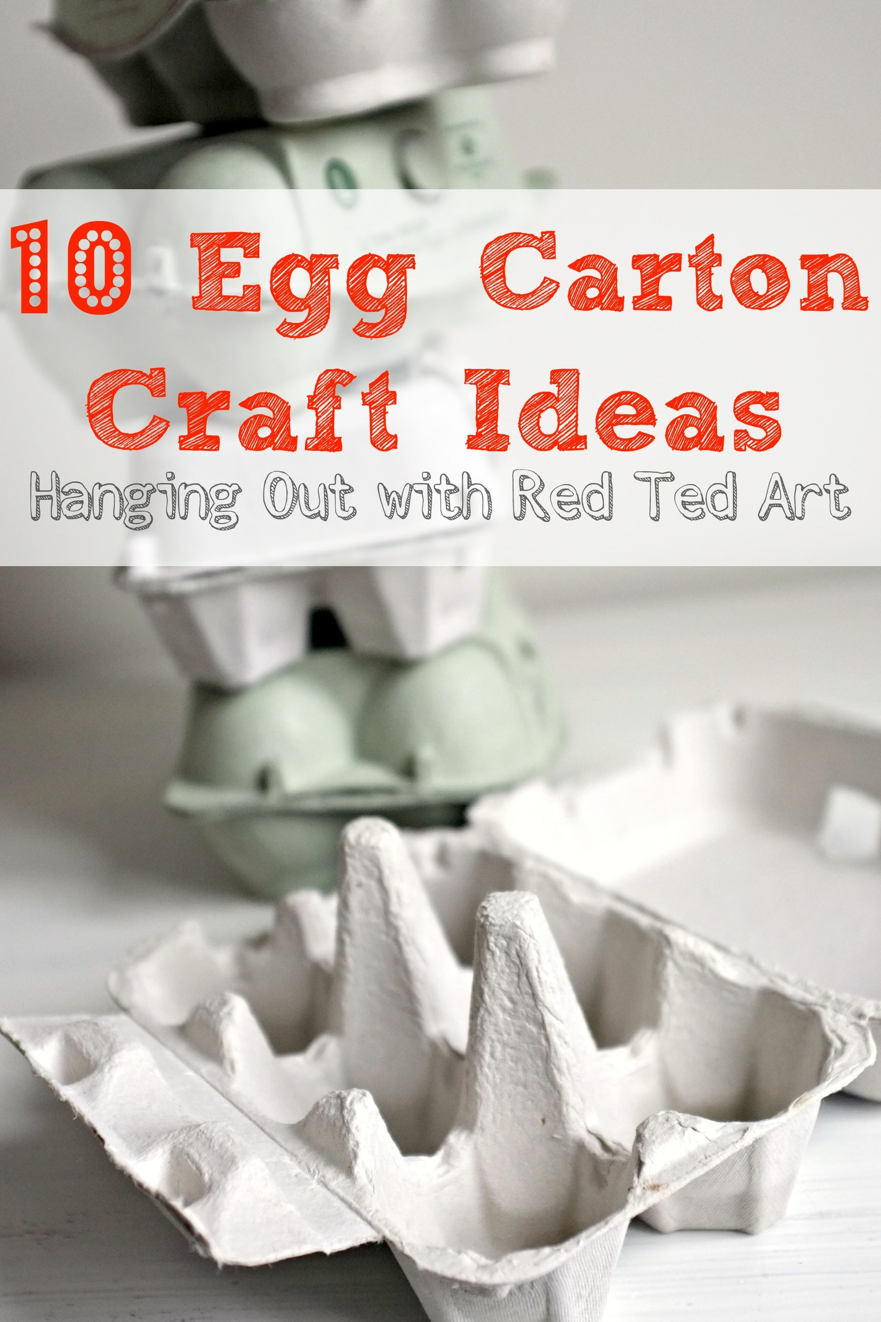 What to make from Egg Cartons – Here we hangout and share some of our favourite egg carton crafts