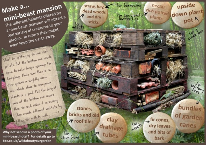 bug hotel information - Simple Bug Hotel - these bug hotels make the perfect Garden Craft for young explorers and scientists this Spring and Summer. Easy to assembly (a great garden craft for toddlers too!) and great for observation and exploration. Get closer to nature this summer, with this wonderful and easy garden craft for kids!! Love Bugs. Love Bug Hotel DIYs!!