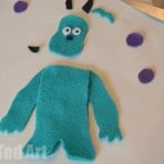 monsters inc finger puppet crafts