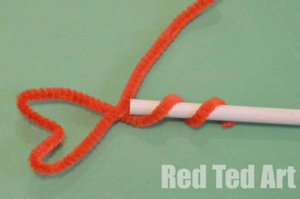 simple pencil topper