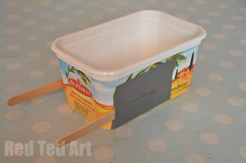 Margarine Tub Tug Boat Craft