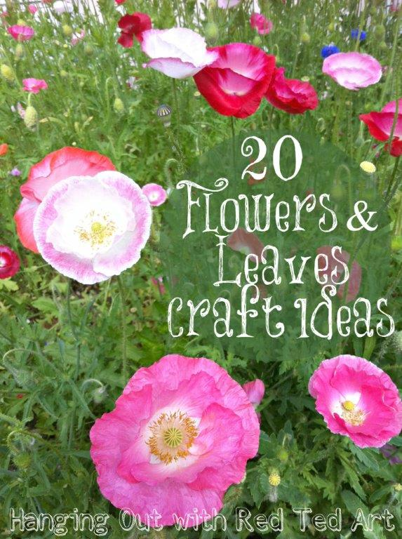 20 Flower and Leaves Ideas