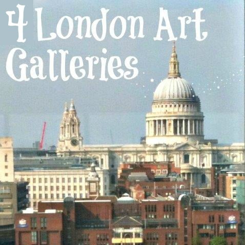 4 London Art Galleries with Kids square