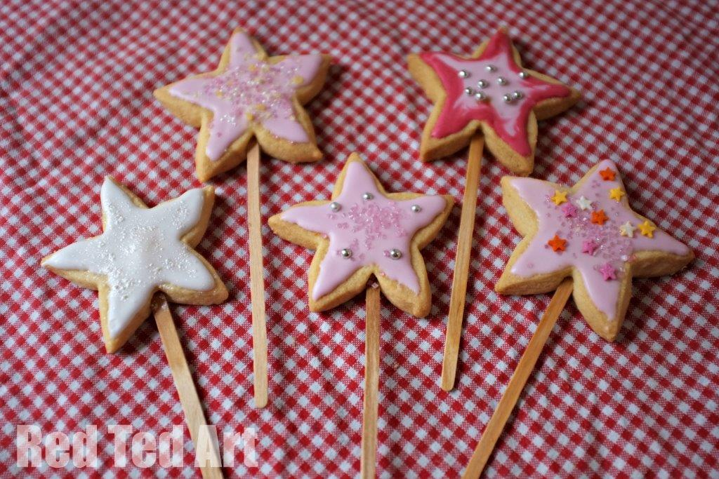Fairy wand cookies recipe
