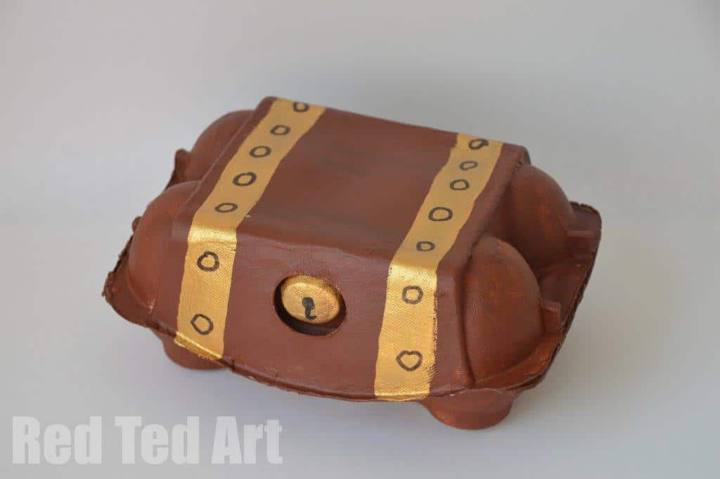 treasure box craft idea red ted art 39 s blog red ted art