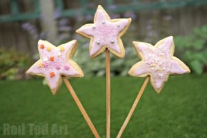 Fairy Wand Cookie Pops