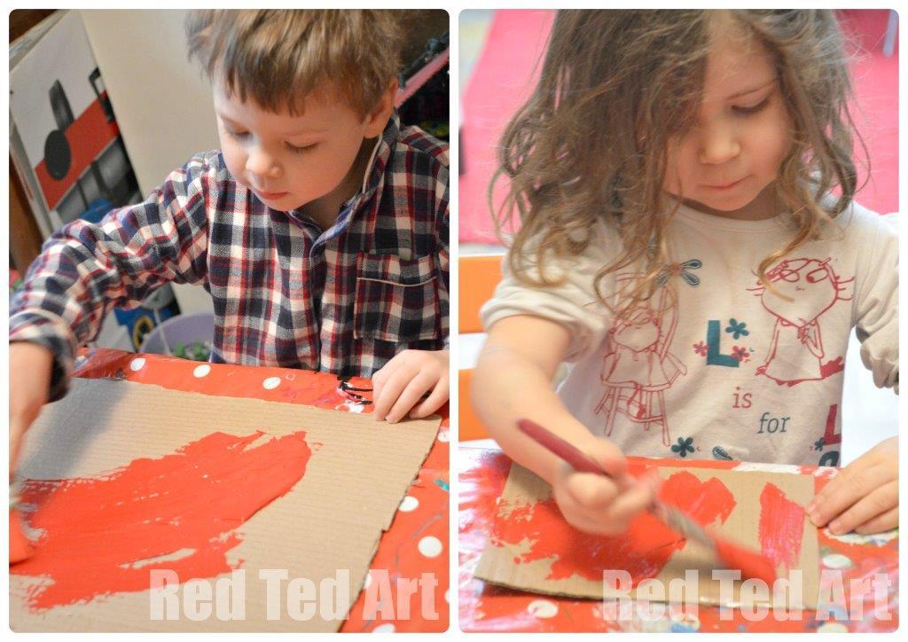 Karel Appel Collage - Art with Kids