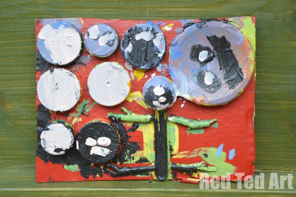Karel Appel Junk Collage - Art with Kids