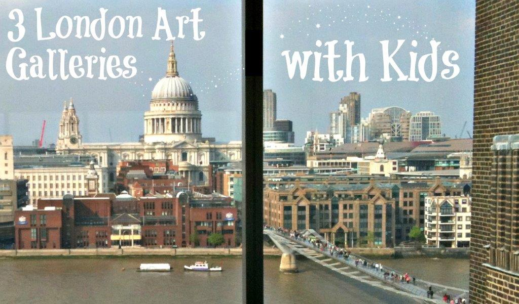 London Art Galleries with Kids