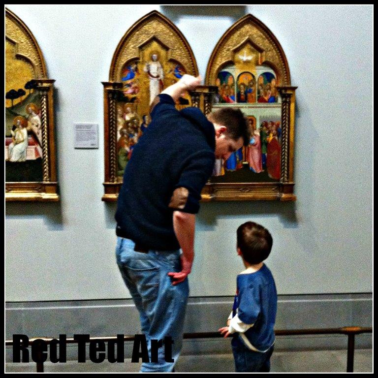 National Gallery with kids